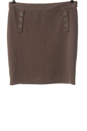 Gina Benotti Jupe tricotée brun style d'affaires