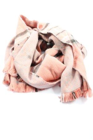 Gina Benotti Écharpe en tricot motif abstrait style décontracté