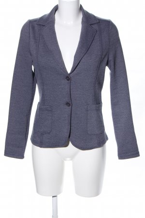 Gina Benotti Sweatblazer blau meliert Business-Look