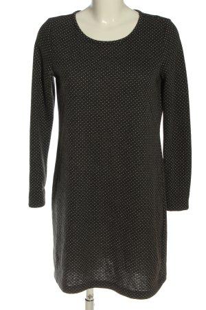 Gina Benotti Sweat Dress light grey-white allover print casual look