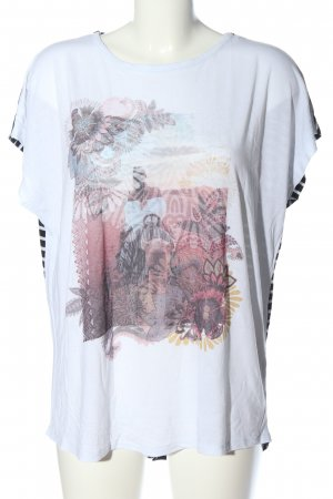 Gina Benotti T-Shirt Motivdruck Casual-Look