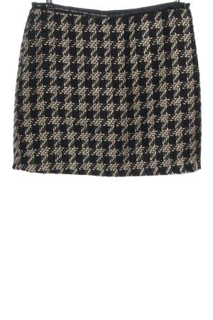 Gina Benotti Tweed Skirt black-natural white check pattern party style