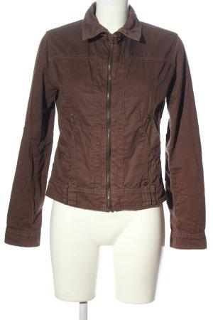 Gina Benotti Between-Seasons Jacket brown casual look