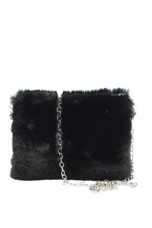 Gina Benotti Umhängetasche schwarz-silberfarben Elegant
