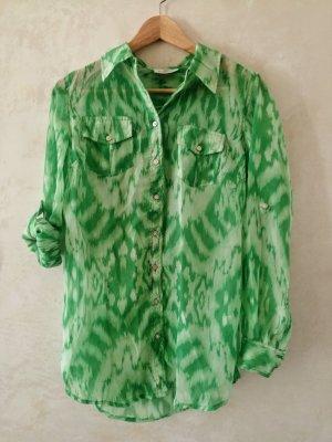Długa koszulka zielony