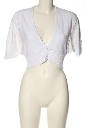 Gina Bolerko biały W stylu casual