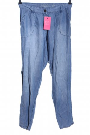 Gina Boyfriend Trousers blue casual look