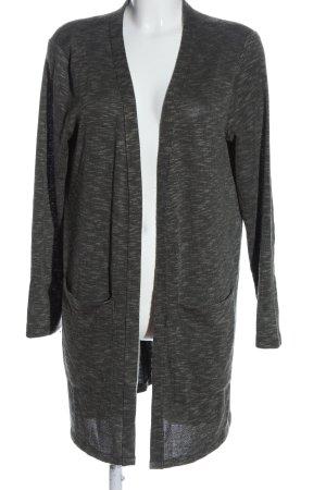 Gina Cardigan grigio chiaro puntinato stile casual