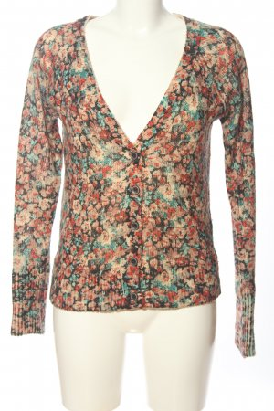 Gina Cardigan Allover-Druck Casual-Look