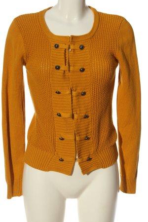 Gina Cardigan arancione chiaro stile casual