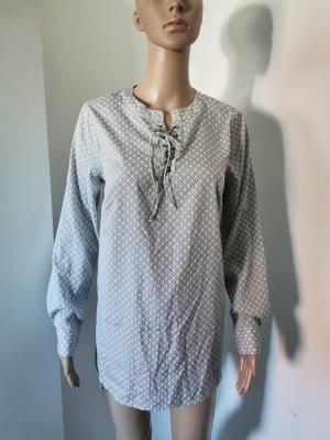 Gina Damen Longbluse Maxibluse Orientalisches Muster Größe 36