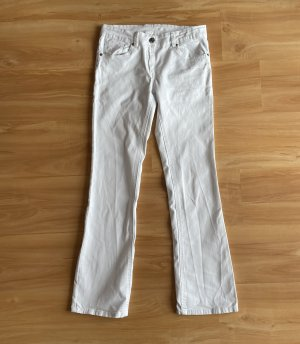 Gina Boot Cut Jeans white
