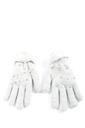 Gina Bont handschoenen lichtgrijs casual uitstraling