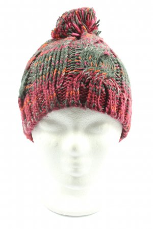 Gina Crochet Cap cable stitch casual look