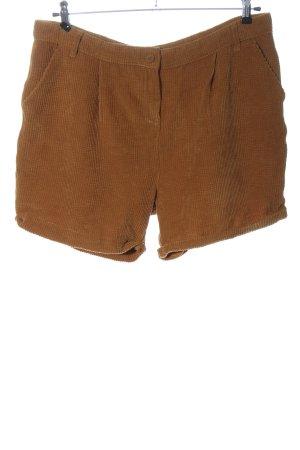 Gina High-Waist-Shorts brown casual look