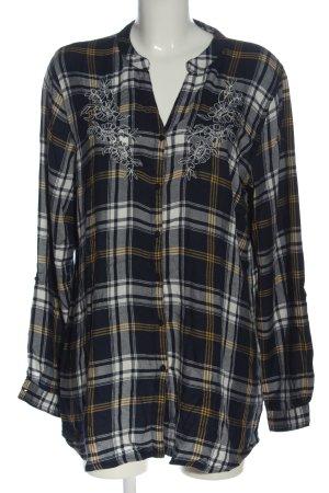 Gina Chemise de bûcheron motif à carreaux style décontracté