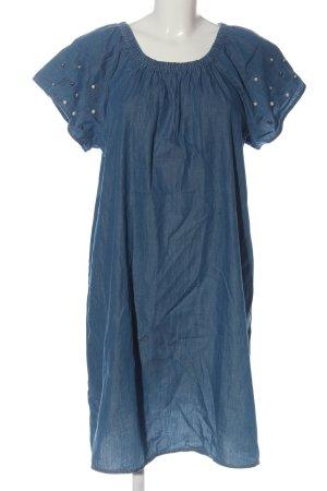 Gina Denim Dress blue casual look