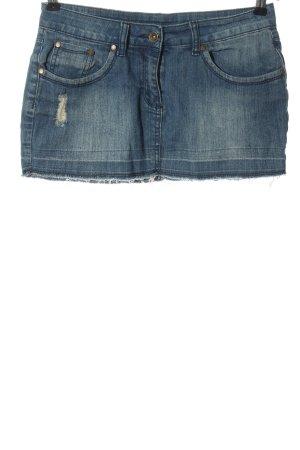 Gina Gonna di jeans blu stile casual