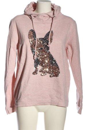Gina Kapuzensweatshirt pink meliert Casual-Look