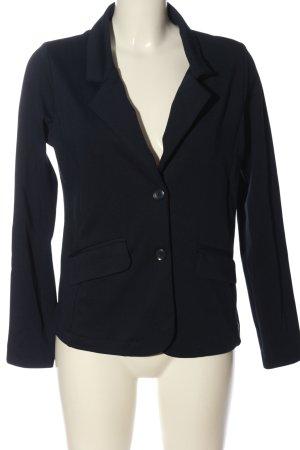 Gina Korte blazer blauw zakelijke stijl