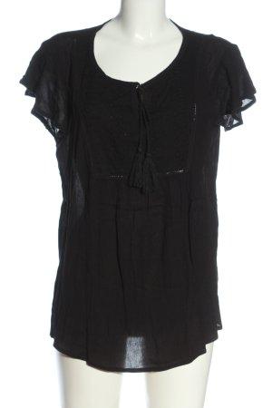 Gina Short Sleeved Blouse black business style