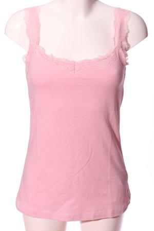 Gina Laura ärmellose Bluse pink Casual-Look