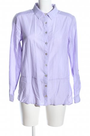 Gina Laura Hemd-Bluse lila Webmuster Business-Look
