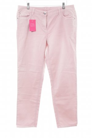 Gina Laura Hoge taille jeans roze casual uitstraling