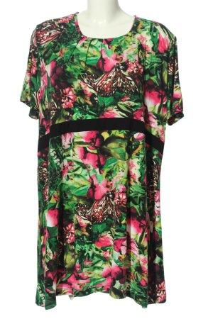 Gina Laura Shirtkleid Blumenmuster Casual-Look