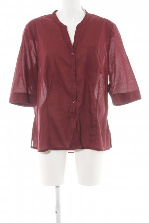 Gina Laura Kurzarm-Bluse rot Casual-Look