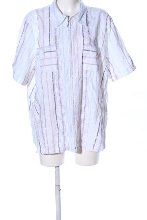 Gina Laura Koszula z krótkim rękawem Wzór w paski W stylu casual