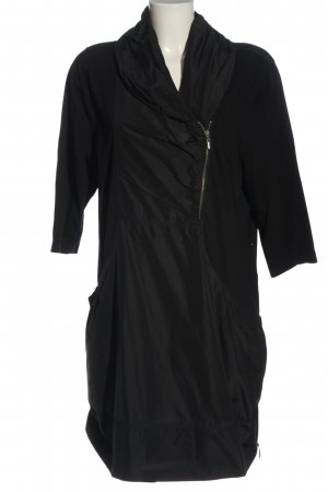 Gina Laura Short Sleeve Knitted Jacket black casual look