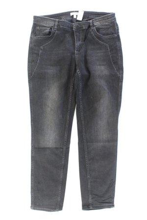 Gina Laura Skinny Jeans Größe Kurzgröße 21 grau aus Baumwolle