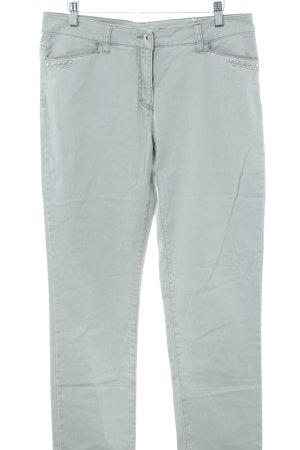 Gina Laura Slim Jeans blau Casual-Look