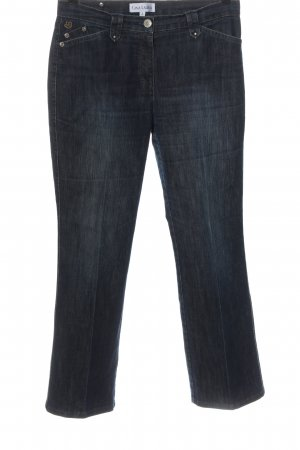 Gina Laura Jeansy z prostymi nogawkami niebieski W stylu casual