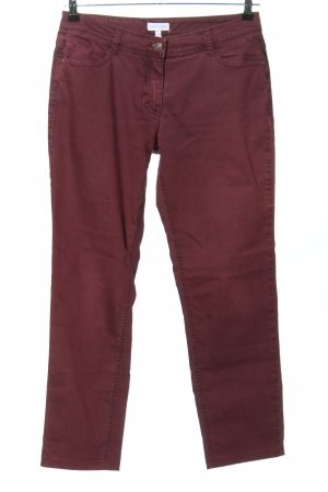 Gina Laura Jeans stretch rouge style décontracté