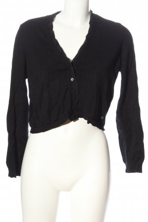 Gina Laura Knitted Bolero black casual look