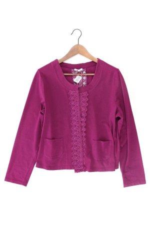 Gina Laura Cardigan tricotés violet-mauve-violet-violet foncé coton
