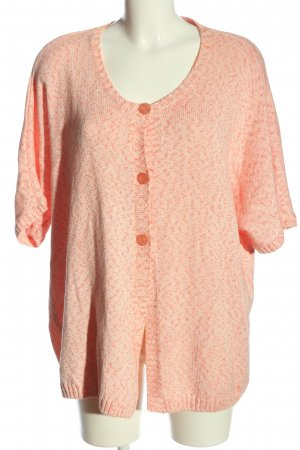 Gina Laura Strickpullover pink-nude meliert Casual-Look