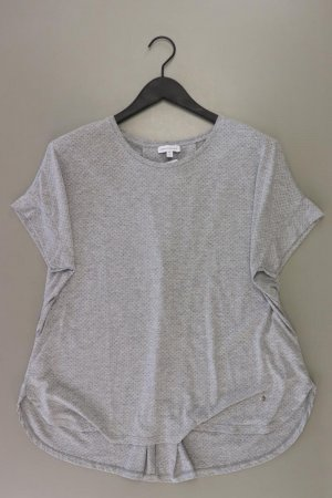 Gina Laura T-Shirt Größe M Kurzarm grau aus Polyester