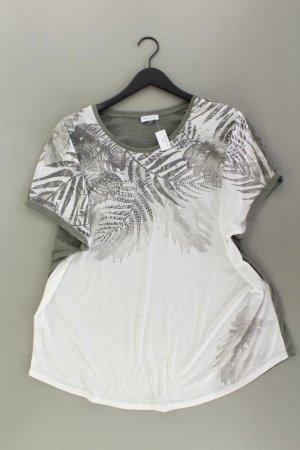 Gina Laura T-Shirt Größe XL Kurzarm olivgrün