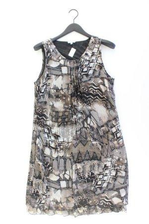 Gina Laura Trägerkleid Größe M braun aus Polyester