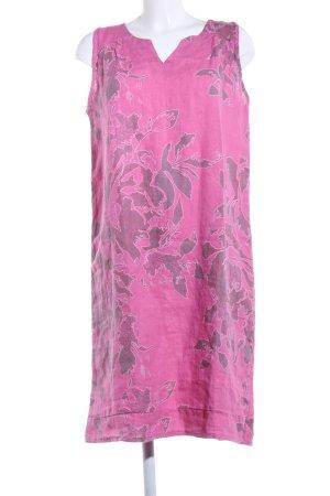 Gina Laura Tunikabluse pink-hellgrau Blumenmuster Casual-Look