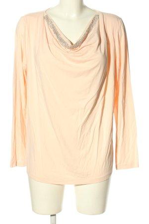 Gina Laura Wasserfallshirt pink Casual-Look