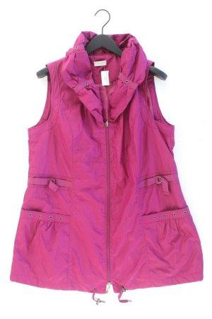 Gina Laura Weste Größe L pink aus Polyester