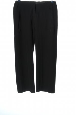 gina locardo Baggy broek zwart casual uitstraling
