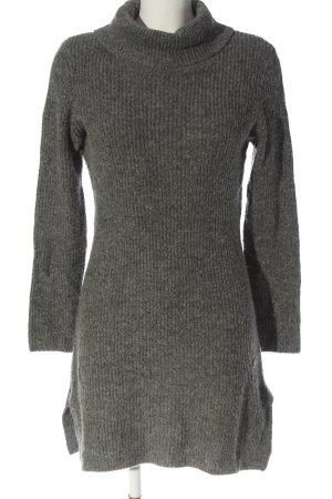 Gina Swetrowa sukienka jasnoszary W stylu casual