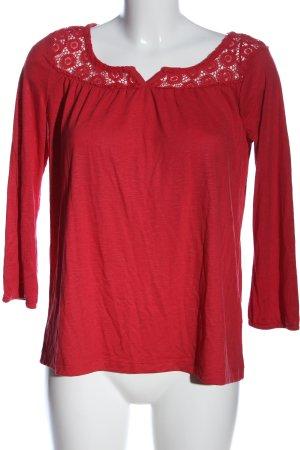 Gina Camicetta da notte rosso stile casual