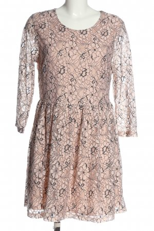 Gina Lace Dress nude-black allover print casual look