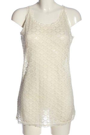 Gina Kanten topje wit casual uitstraling